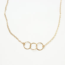 3 Ring Charm Necklace | Vai Beach