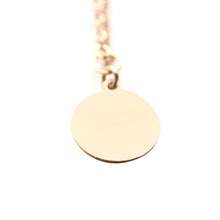 Layering Medium Disk Necklace | Red Sand Beach