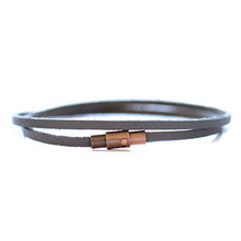 Thin Leather Wrap Bracelet | Laguna