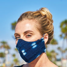Indigo African Mudcloth Cotton Mask