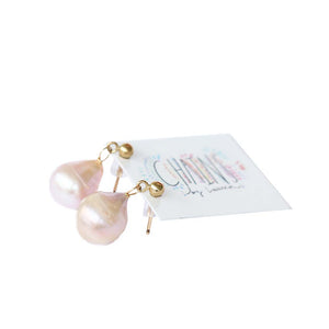 Pearl Earrings | Elafonissi Beach