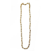 Paper Clip Chain Gold Necklace | Malibu Beach
