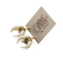 Horn Stud Earrings | Playa de Aguas Blancas