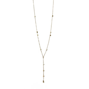 Gold Y Necklace | Capitola Beach