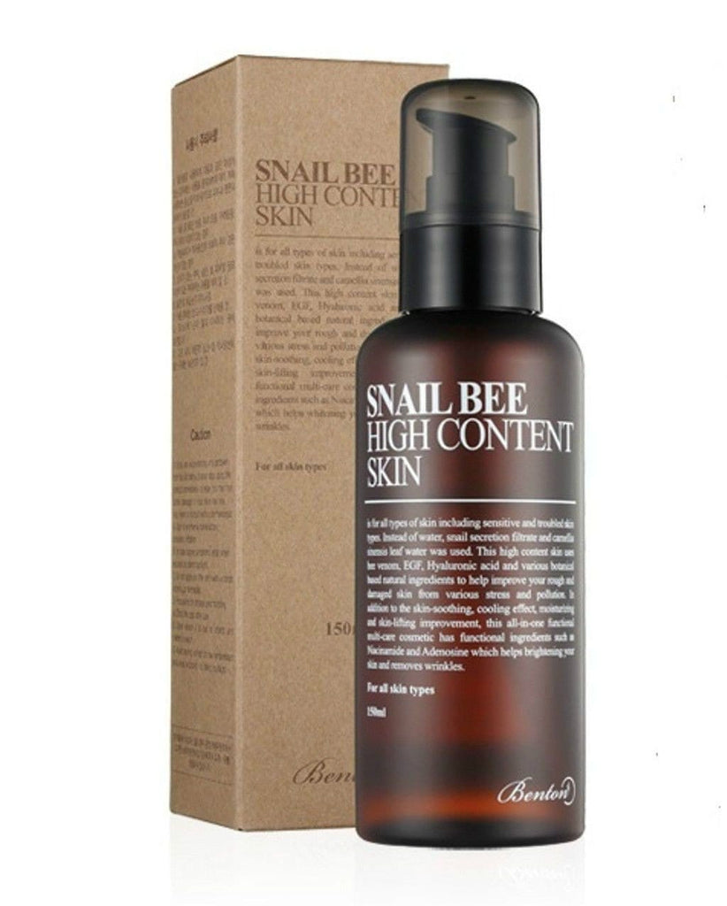 Benton, Benton Snail Bee High Content Skin Toner 150ml (5.7oz), Mk Beauty Club, Toner