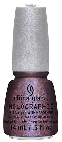 China Glaze - When Stars Collide - Hologram Series