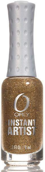 Orly, Orly Instant Artist - 24K Glitter (Gold), Mk Beauty Club, Nail Art