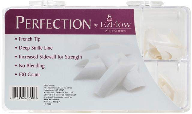Ez Flow, EZ Flow Perfection French Tips - 100ct, Mk Beauty Club, Nail Tips
