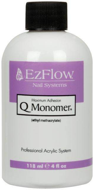 Ez Flow, EZ Flow Q-Monomer Acrylic Liquid Monomer - 4oz, Mk Beauty Club, Acrylic Liquid Monomer
