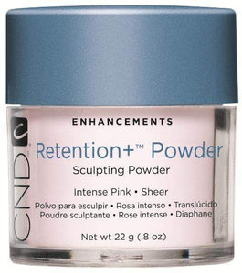 CND Retention + Sculpting Powders - Intense Pink .8 oz.