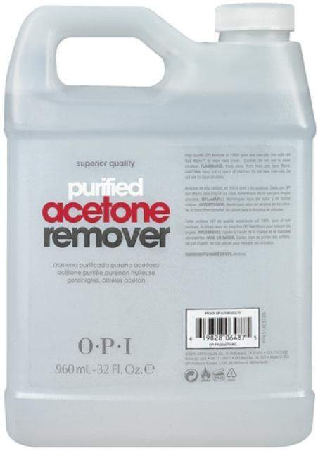 OPI-Supply-OPI - Purified Acetone Remover - 32oz