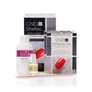 CND, CND Offly Fast Gel Polish Remover Kit, Mk Beauty Club, Gel Remover Kit