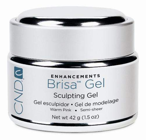 CND, CND Brisa Sculpting Gel - Warm Pink Semi Sheer 1.5oz, Mk Beauty Club, Hard Gel