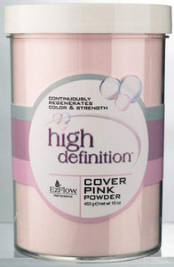 EZ Flow HD Cover Pink Acrylic Powder - 16 oz.