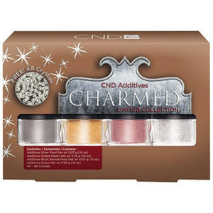 CND Additives - Charmed FREE AB Crystals - Holiday 2013 Limited Collectionon