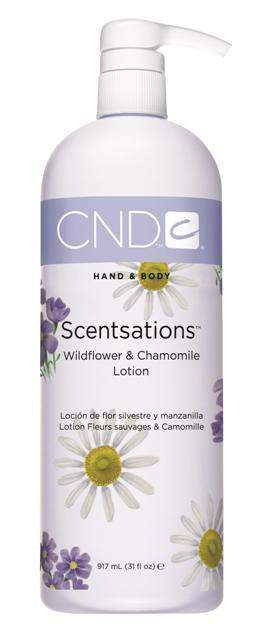 CND Scentsations Lotion - Wildflower & Chamomile 31 oz.