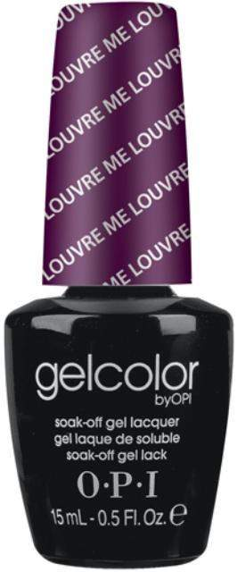 OPI GelColor - Louvre Me, Louvre Me Not