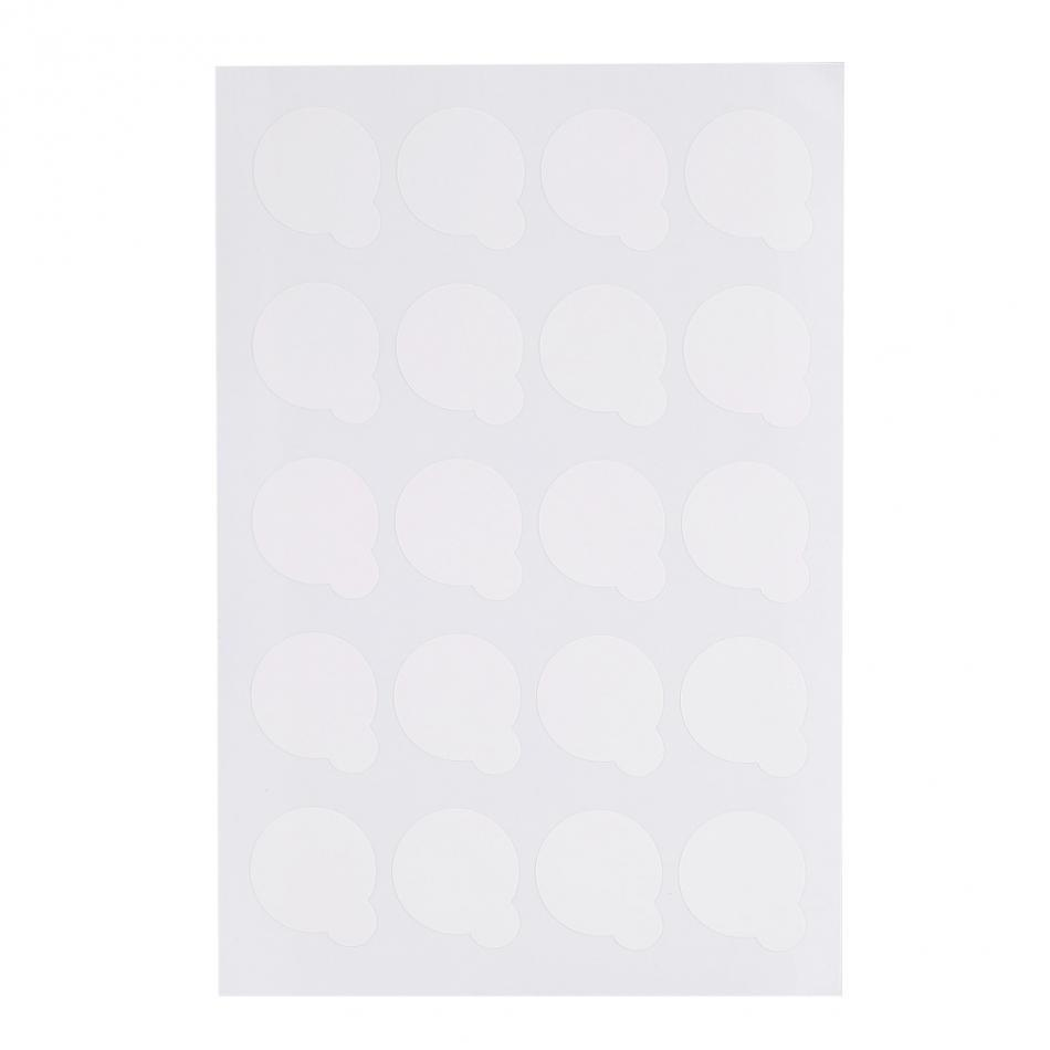 Mk Beauty Club, Eyelash Extension Disposable Sticker for Glue Pallet 100pcs, MkStore2109