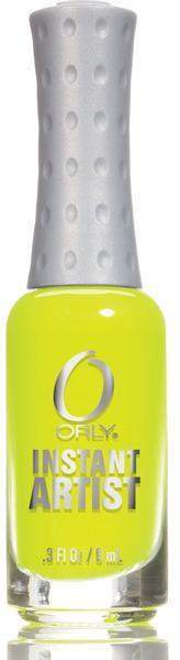 Orly, Orly Instant Artist - Hot Yellow, Mk Beauty Club, Nail Art