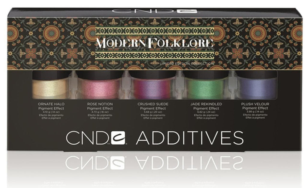 CND Additives Nail Art Powder Modern Folklore Kit