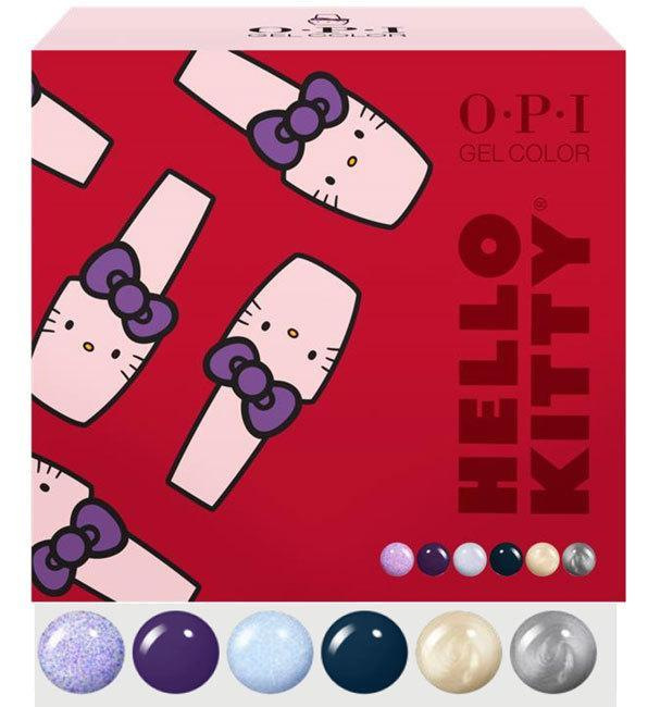 OPI, OPI GelColor - Add On Kit #2 Hello Kitty 2019, Mk Beauty Club, Gel Polish Kit