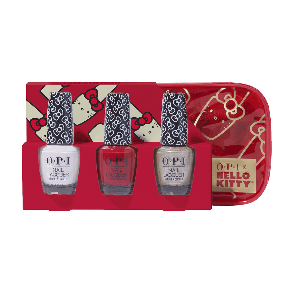 OPI Trio Pack -Hello Kitty Collection 2019