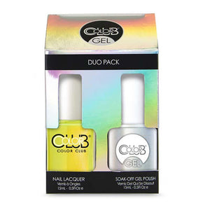 Color Club Gel Duo - Not-So-Mellow Yellow