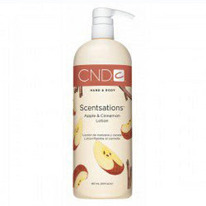 CND Scentsations Lotion - Apple & Cinnamon 31 oz.
