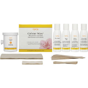 GiGi - Creme Wax Microwave Kit