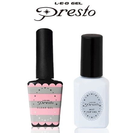 Presto Duo - Matte Top Coat + Base Coat