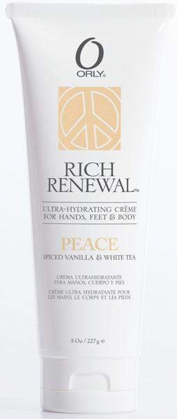 Orly Rich Renewal Cremes - Peace 8 oz.