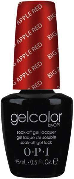 OPI, OPI Gel Polish GCN25 - Big Apple Red, Mk Beauty Club, Acrylic & Gel
