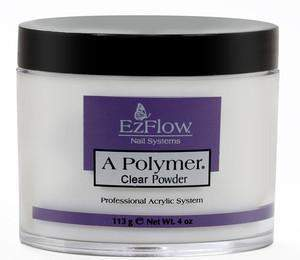 Ez Flow, EZ Flow A Polymer Clear Powder - 4oz, Mk Beauty Club, Acrylic powder