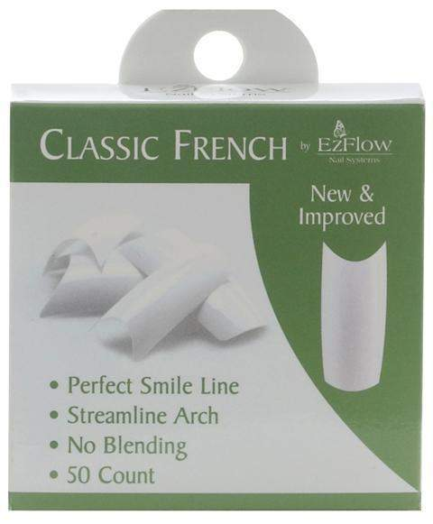 Ez Flow, EZ Flow Classic French Tips - 50ct, Mk Beauty Club, Nail Tips