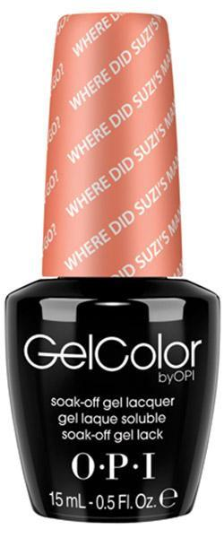 OPI GelColor - Where Did Suzi's Man-Go - Brazil 2014 Collection