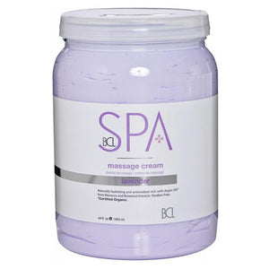 BCL SPA - Lavender Massage Cream - 64oz