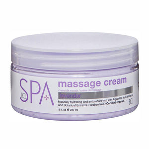 BCL SPA - Lavender + Mint Massage Cream - 8oz