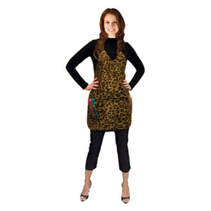 Salon Chic, Salon Chic - Leopard Salon Apron, Mk Beauty Club, Apron