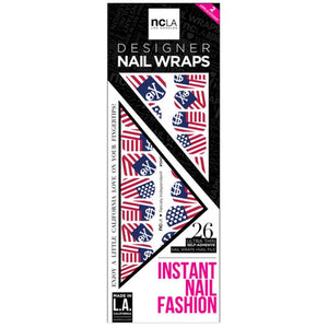 NCLA - Fiercely Independent - Nail Wraps