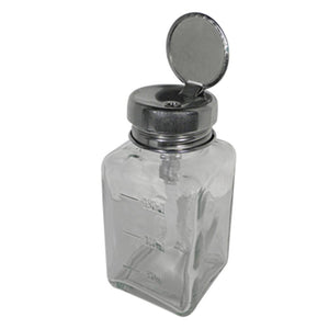 DL Pro - Glass Pump Dispenser Bottle - 6oz