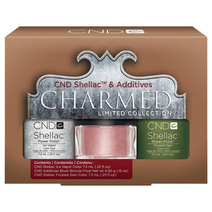 CND - Shellac & Additives (Duo Kit 1) -  Holiday 2013 Charmed Collection