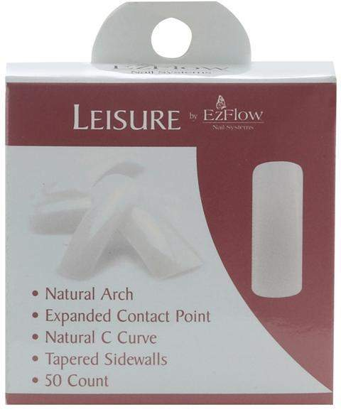 Ez Flow, EZ Flow Leisure Tips #2 - 50ct, Mk Beauty Club, Nail Tips