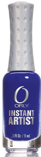 Orly, Orly Instant Artist - True Blue, Mk Beauty Club, Nail Art
