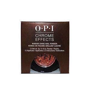 Mk Beauty Club, OPI Chrome Effects Mirror-Shine Nail Powder 3 g / 0.1 oz CP002 Bronze by the Sun, MkStore2109