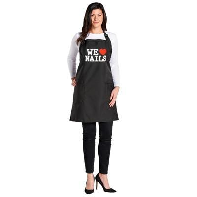 "Scalpmaster, Salon Apron ""We Love Nails"", Mk Beauty Club, Apron"