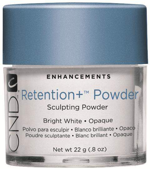 CND, CND Retention + Sculpting Powders - Bright White Opaque 0.8 oz., Mk Beauty Club, Acrylic Powder