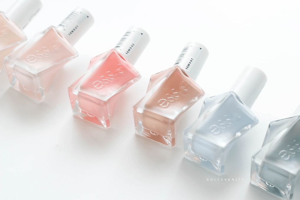 Essie GelCouture - Ballet Nudes Collection 6 PC Set