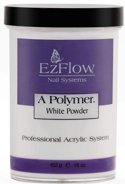 Ez Flow, EZ Flow A Polymer White Powder - 16oz, Mk Beauty Club, Acrylic powder