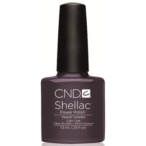CND-Gel Polish Color-CND Shellac Vexed Violette