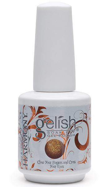 Nail Harmony Gelish - Close Your Fingers and Cross Your Eyes - Aurora FX Glitter Collection